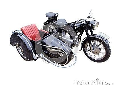 Oldtimer motorbike