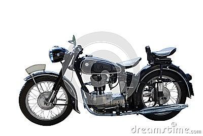 Oldtimer motorcycle