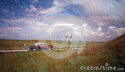 Oldtimer Postcard