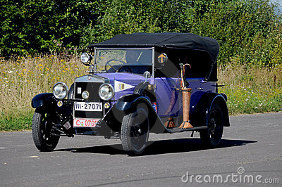 Oldtimer Rally -Fiat 503, 1926 Editorial Stock Image