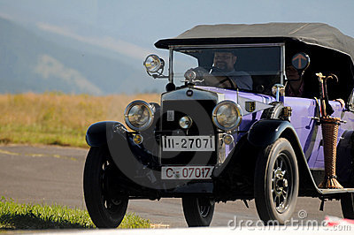 Oldtimer Rally -Fiat 503, 1926 Editorial Photo