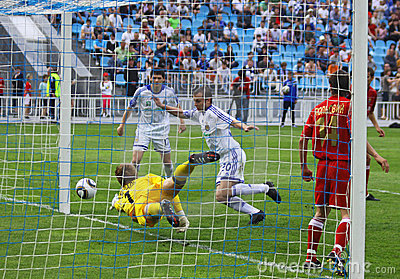 Oleg Gusev of Dynamo Kyiv Editorial Image