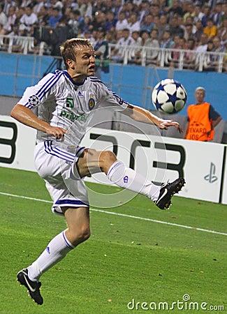Oleg Gusev of Dynamo Kyiv Editorial Photo