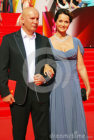 Olga Kabo at Moscow Film Festival Editorial Stock Image