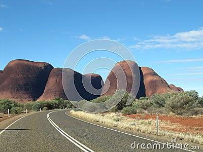 The Olgas Australia Outback