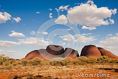 The Olgas - Kata Tjuta -  Australia