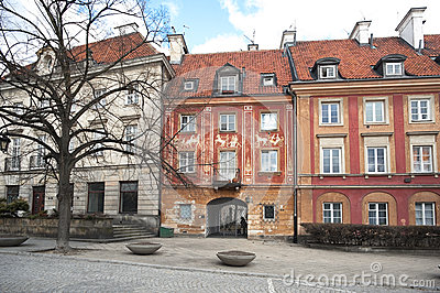 Olhar fixo Maisto - cidade velha Varsóvia
