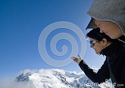 Olhe Mont Blanc