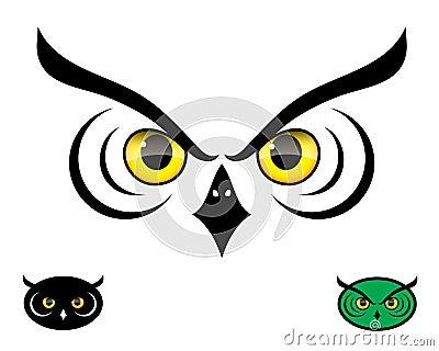 Olhos da coruja