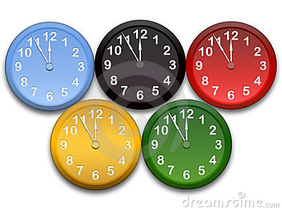 Olimpic clocks