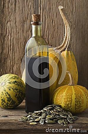 Olio della zucca