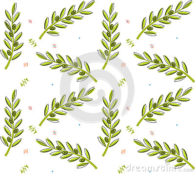 Olive Branch Pattern