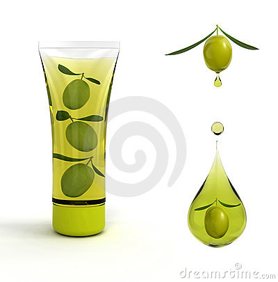 Free Olive Cosmetic Royalty Free Stock Image - 10287416
