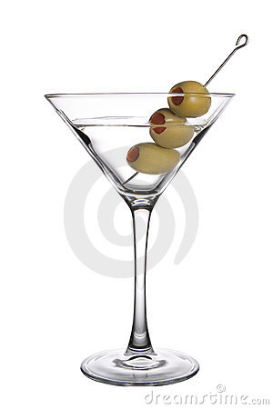 Free Olive Martini Stock Images - 19358424