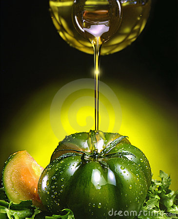 Free Olive Oil And Tomato Stock Image - 11171011