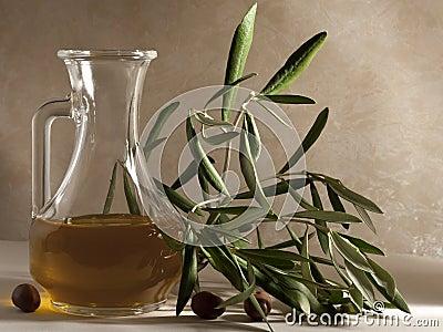 Olive Oil in a Cruet
