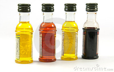 Olive oil in different taste