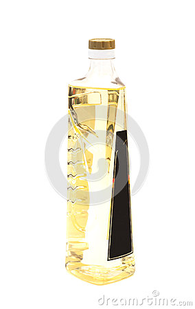 Free Olive Oil In A Plastic Bottle Stock Photo - 56110740