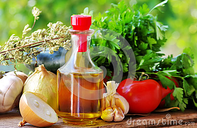Olive oil and Mediterranean cuisine