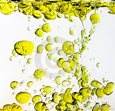 Olive Oil in Water