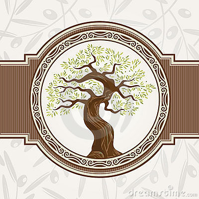 Free Olive Tree Vector Royalty Free Stock Images - 20952829