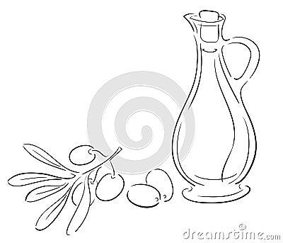 Oliveoil ad olives