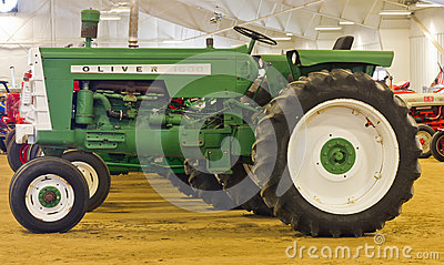 Oliver 1600 Farm Tractor Editorial Photography