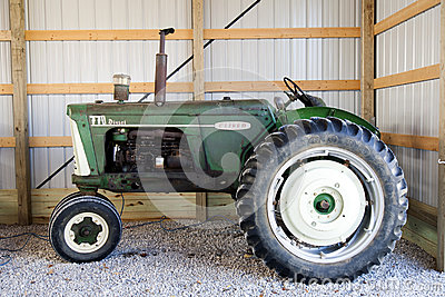 Oliver 770 Diesel Tractor Editorial Stock Photo