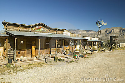 Oliver Lee General Store Editorial Stock Image