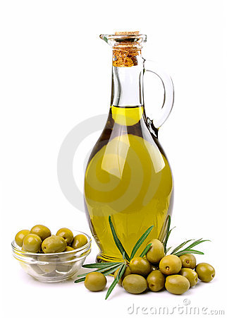 Free Olives And Oil Close Up Royalty Free Stock Photo - 21713235