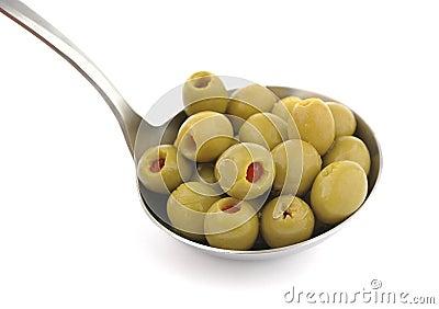 Olives ladle