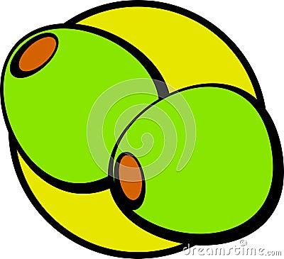 olives vector illustration