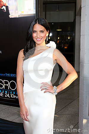 Olivia Munn arrives at HBO s Editorial Image