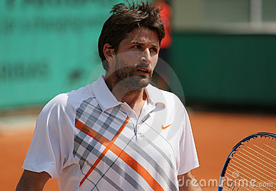 Olivier PATIENCE (FRA) at Roland Garros 2010 Editorial Stock Image
