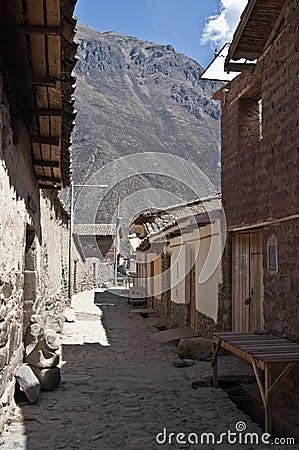 Ollantaytambo, inca town
