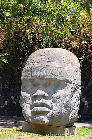 Free Olmec Head Royalty Free Stock Photos - 746858