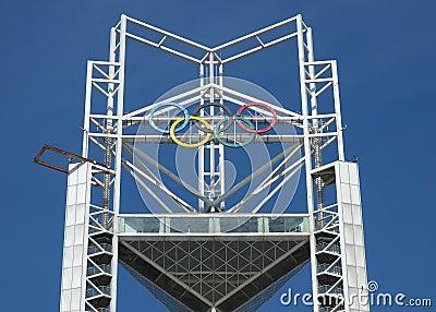 Olímpico Foto de archivo editorial