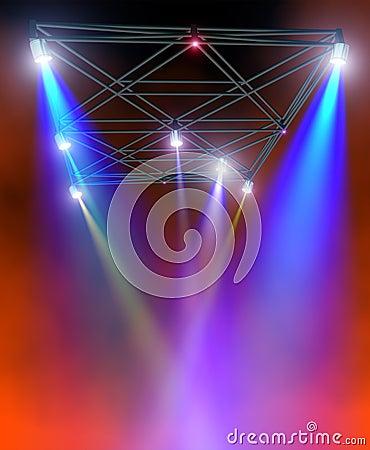 Сolored lighting