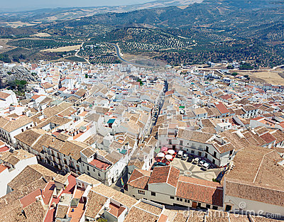 Olvera village