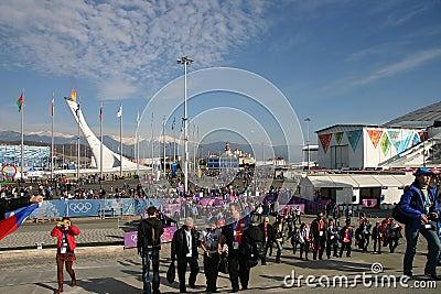 Olympiad of Sochi-2014 Editorial Image