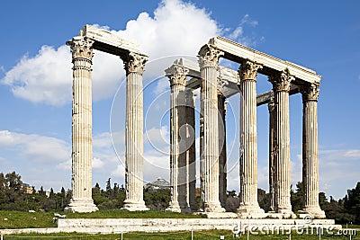 Olympian zeus ναών