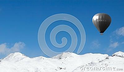 Olympic air balloon