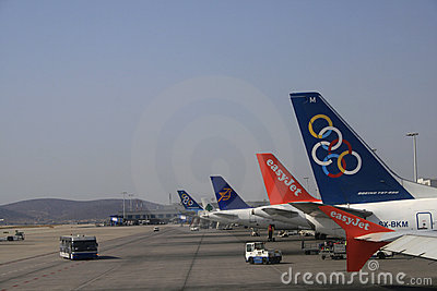 Olympic Airlines Editorial Stock Photo