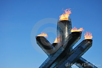Olympic Cauldron Editorial Image