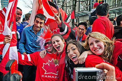 Olympic Celebration Editorial Photo