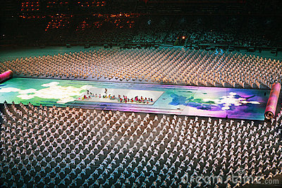 Olympic ceremony Editorial Photography