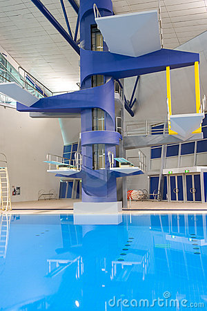 Olympic Diving Platforms Stock Photo Image 5314120