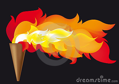 Olympic Flame Royalty Free Stock Photo - Image: 6115375
