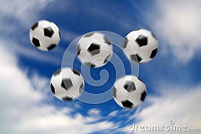 Olympic football soccer balls