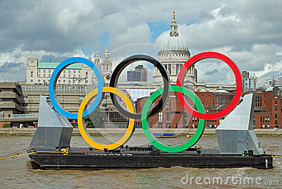 Olympic Games London Editorial Photo